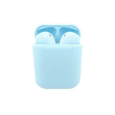 Auriculares bluetooth innjoo go azul + estuche de carga - Imagen 1