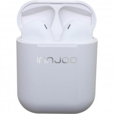Auriculares bluetooth innjoo go blanco + estuche de carga - Imagen 1