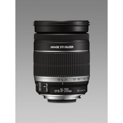 Canon EF-S 18-200mm f/3.5-5.6 IS SLR Negro - Imagen 1