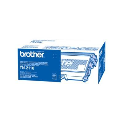 Brother TN-2110 cartucho de tóner Original Negro 1 pieza(s) - Imagen 1