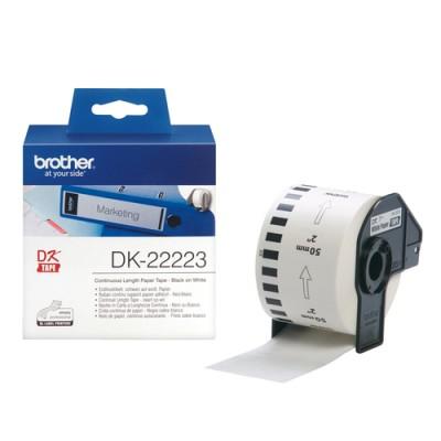 Brother DK-22223 etiqueta de impresora Blanco - Imagen 1