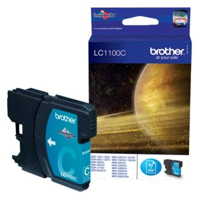 Brother LC-1100C cartucho de tinta Original Cian 1 pieza(s) - Imagen 1