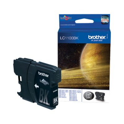 Brother LC-1100BK Black Ink Cartridge Original Negro 1 pieza(s) - Imagen 1