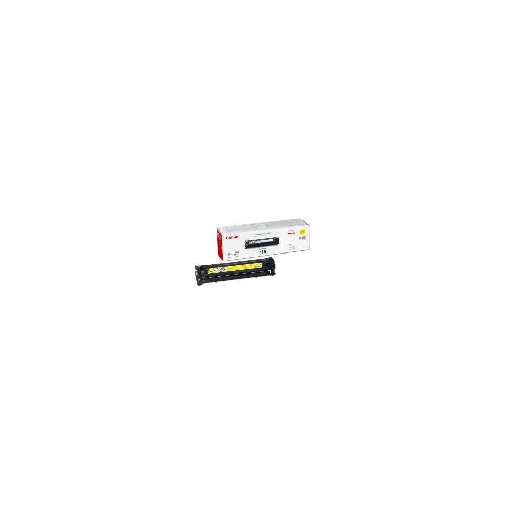 Toner canon 716 amarillo 1500 páginas lbp5050 -  5050n - Imagen 1