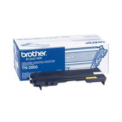 Brother TN-2005 Toner Cartridge Original Negro - Imagen 1