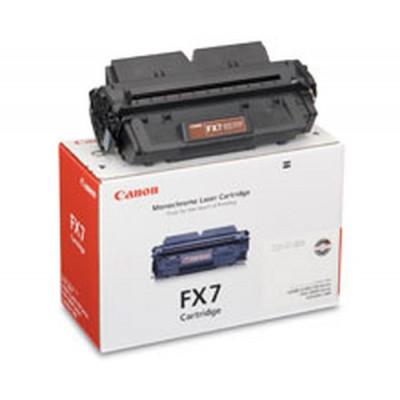 Canon FX-7 Black Toner Cartridge Original Negro - Imagen 1