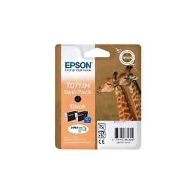 Cartucho tinta epson c13t07114h20 pack de 2 negro alta capacidad - Imagen 1