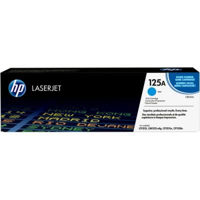 HP 125A cyan original LaserJet tonerkassett Cian 1 pieza(s) - Imagen 1