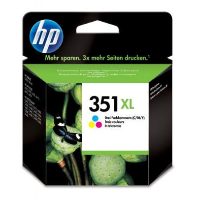 HP 351XL Original Cian, Magenta, Amarillo 1 pieza(s) - Imagen 1