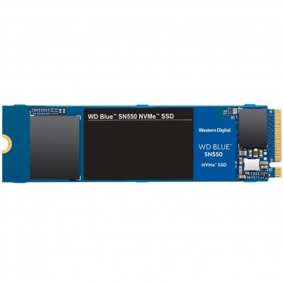 Disco duro interno solido hdd ssd wd western digital blue wds500g2b0c 500gb m.2 pci express gen 3 nvme - Imagen 1