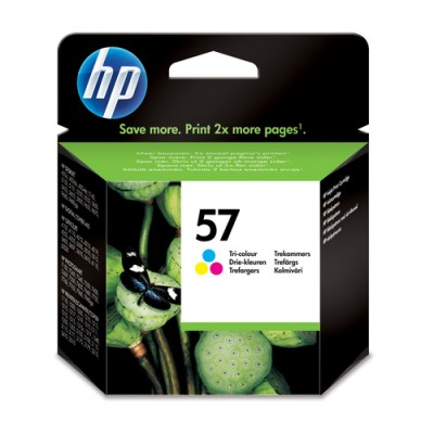 HP 57 Original Cian, Magenta, Amarillo 1 pieza(s) - Imagen 1