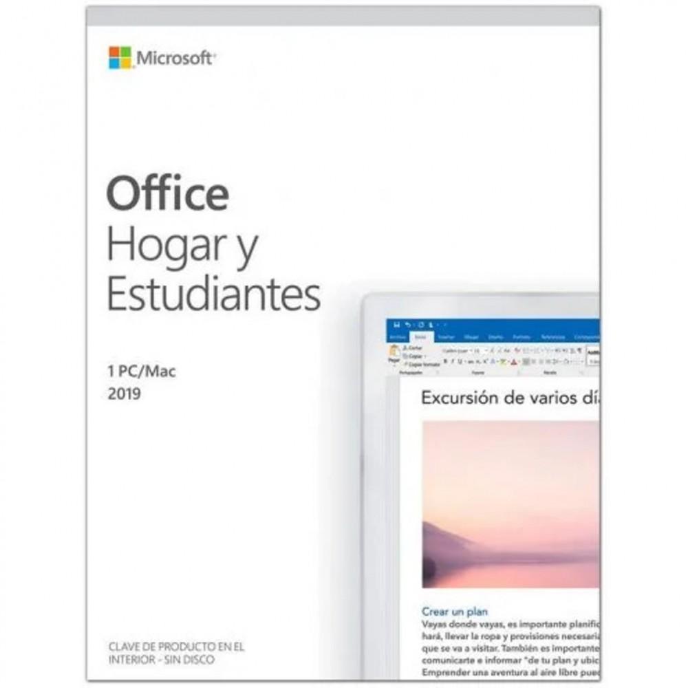 Microsoft office 2019 hogar y estudiantes 1pc - mac - Imagen 1