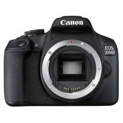 Canon EOS 2000D + EF-S 18-55mm f/3.5-5.6 III Juego de cámara SLR 24,1 MP CMOS 6000 x 4000 Pixeles Negro - Imagen 1