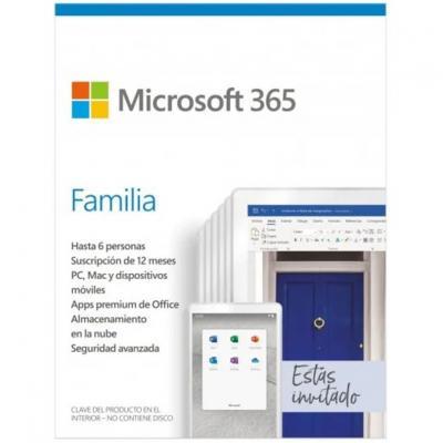 Microsoft 365 familia 6 licencias 1 año - Imagen 1
