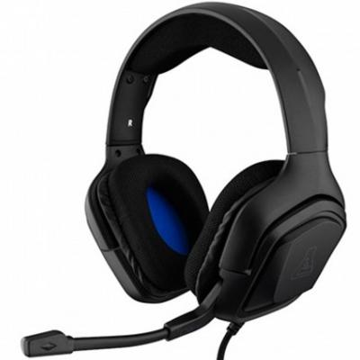 Auriculares the g - lab korp - cobalt - b microfono jakc 3.5mm gaming negro - Imagen 1