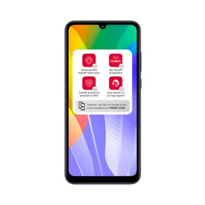 """Huawei Y6p 16 cm (6.3"""") 3 GB 64 GB SIM doble 4G MicroUSB Negro Android 10.0 Huawei Mobile Services (HMS) 5000 mAh - Imagen 1"""