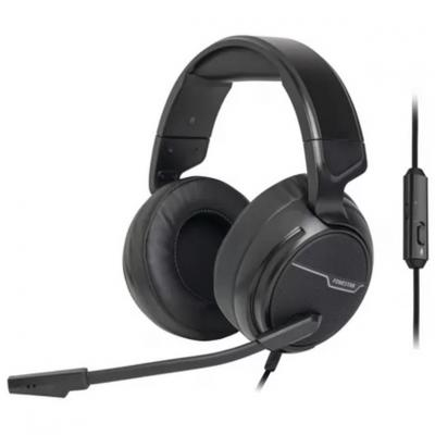Auriculares fonestar win - microfono -  jack 3.5mm - 20 - 20.000 hz - control volumen cable - 2m - gaming - Imagen 1