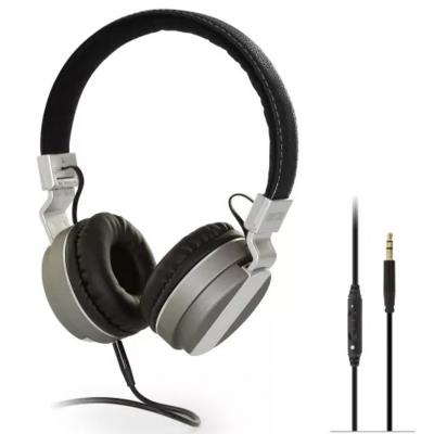 Auriculares diadema fonestar tvphones - 62 - 20 - 20000hz - potencia 100mw - cable 5m - jack 3.5mm - color negro - plata - Image