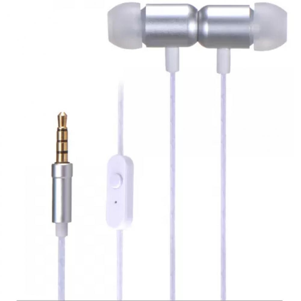 Auriculares intrauditivos fonestar x4 - g con microfono -  jack 3.5mm -  gris - Imagen 1