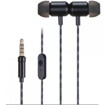 Auriculares intrauditivos fonestar x4 - n - microfono -  jack 3.5mm -  control de llamada - negro - Imagen 1