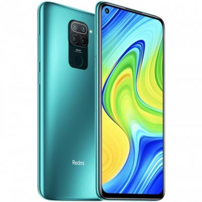 Telefono movil smartphone xiaomi redmi note 9 forest green -  6.53pulgadas -  64gb rom -  3gb ram -  48+8+2+2mpx -  13mpx -  502