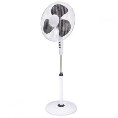 Ventilador de pie nevir nvr - vp40r - bn 40cm -  40w -  3 velocidades -  aspas negras - Imagen 1