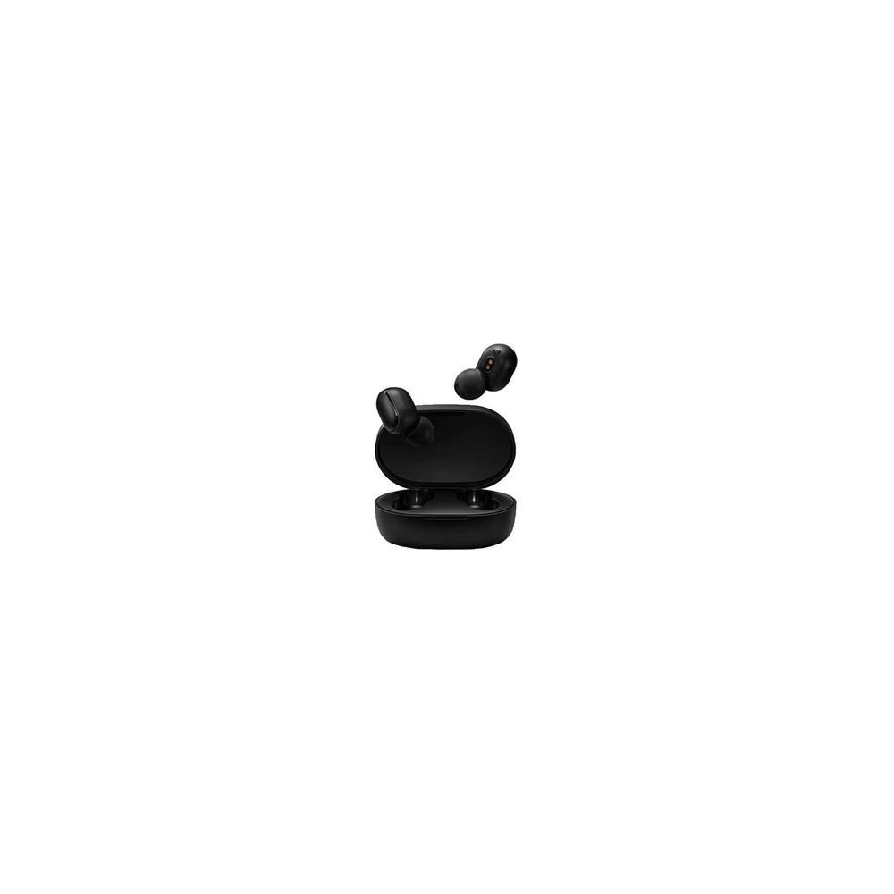 Auriculares xiaomi mi true wireless earbuds basic negro - Imagen 1