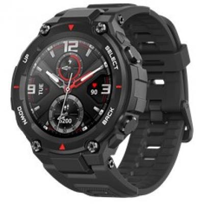 Pulsera reloj deportiva xiaomi amazfit t - rex rock black -  smartwatch -  amoled 1.3pulgadas -   bluetooth - Imagen 1