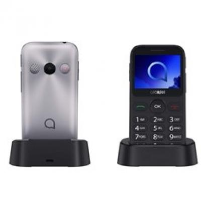 Telefono movil alcatel 2019g metalic silver - 2mp - 16mb rom - 8mb ram - 2mpx - single sim - Imagen 1