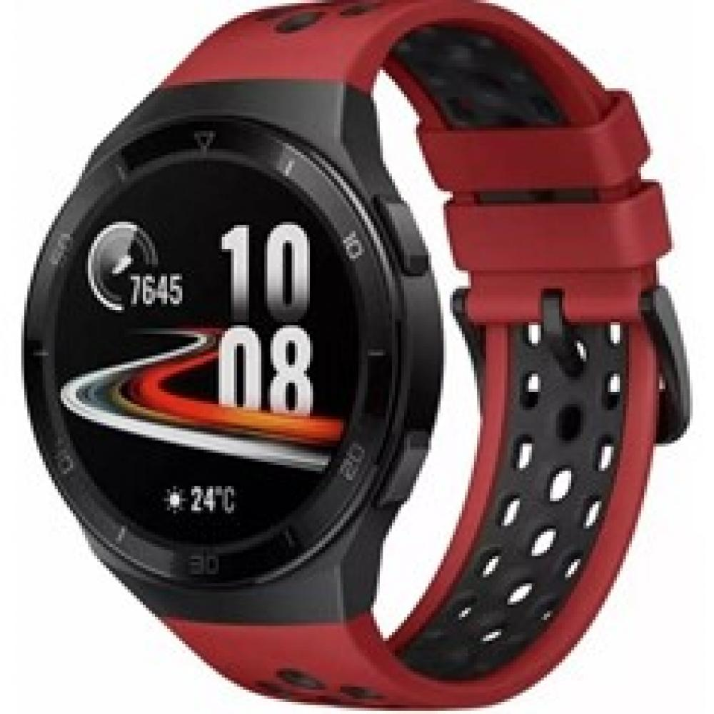 Pulsera reloj deportiva huawei watch gt 2e rojo -  smartwatch -  1.39pulgadas amoled -  5 atm - Imagen 1