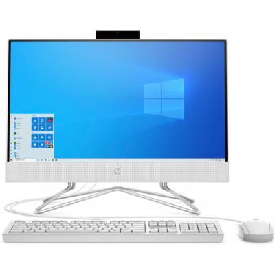 "HP 22 -df0025ns 54,6 cm (21.5"") 1920 x 1080 Pixeles Intel® Celeron® 4 GB DDR4-SDRAM 256 GB SSD Wi-Fi 5 (802.11ac) Blanco PC todo"
