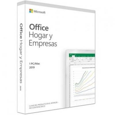 Microsoft office home and business 2019 español caja new - Imagen 1
