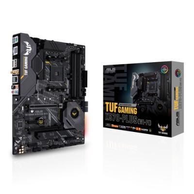 ASUS TUF Gaming X570-Plus (WI-FI) Zócalo AM4 ATX AMD X570 - Imagen 1