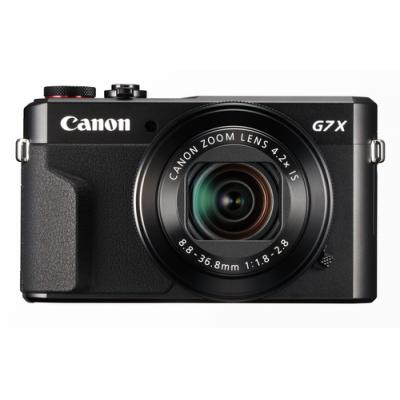 "Canon PowerShot G7X Mark II Cámara compacta 20,1 MP CMOS 5472 x 3648 Pixeles 1"" Negro - Imagen 1"