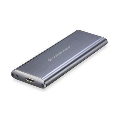 Conceptronic HDE01G caja para disco duro externo M.2 Caja externa para unidad de estado sólido (SSD) Gris - Imagen 1