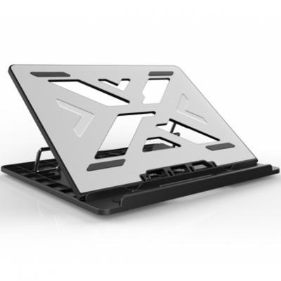 Soporte - base de refrigeracion conceptronic para portatiles hasta 15.6pulgadas aluminio gris - Imagen 1