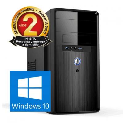 Ordenador pc phoenix topvalue intel core i7 8gb ddr4 480 gb ssd micro atx windows 10 - Imagen 1