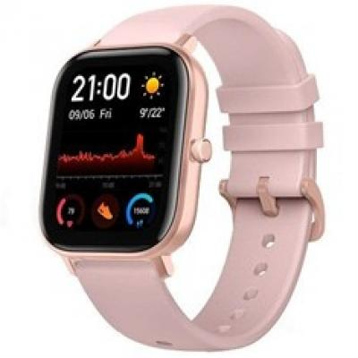 Pulsera reloj deportiva xiaomi amazfit gts pink -  smartwatch -  1.65pulgadas amoled -   ntsc -   resistente al agua 5 atm - Ima