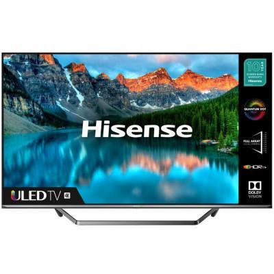 Tv hisense 55pulgadas uled 4k uhd -  55u7qf -  hdr10+ -  smart tv -  4 hdmi -  2 usb -  dvb - t2 - t - c - s2 - s -  quad core -