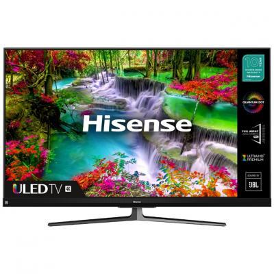 Tv hisense 55pulgadas uled 4k uhd -  55u8qf -  hdr10+ -  smart tv -  4 hdmi -  2 usb -  dvb - t2 - t - c - s2 - s -  quad core -