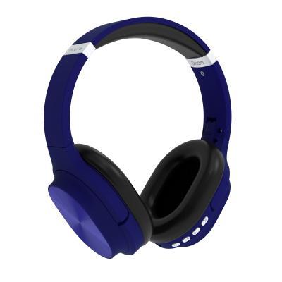 Auriculares inalambricos flux's orion bluetooth 5.0 azul - Imagen 1