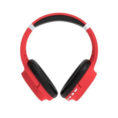 Auriculares inalambricos flux's orion bluetooth 5.0 rojo - Imagen 1