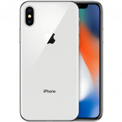 Telefono movil smartphone reware apple iphone x 64gb silver - 5.8pulgadas - lector huella - reacondicionado - refurbish - grado