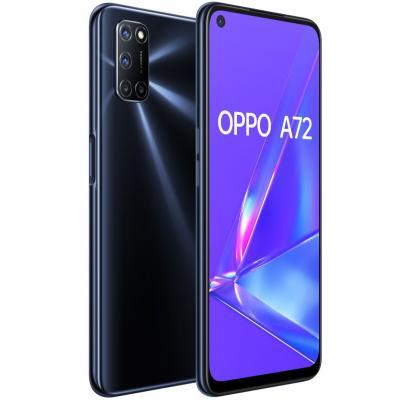 Telefono movil smartphone oppo a72 twilight black - 6.5pulgadas - 128gb rom - 4gb ram - 48+8+2+2mpx -  16mpx - dual siim - huell
