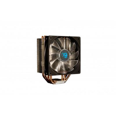 CoolBox DeepGaming Cyclone II LED Blue Procesador Enfriador 12 cm 1 pieza(s) Negro - Imagen 1