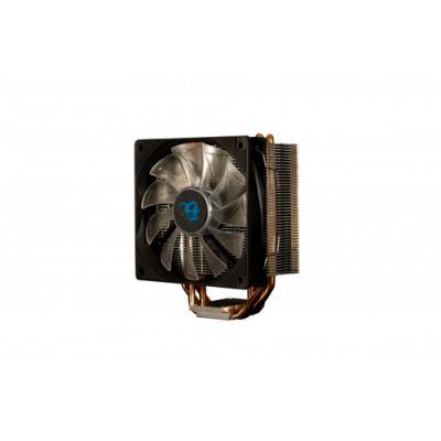 CoolBox DeepGaming Cyclone II LED Blue Procesador Enfriador 12 cm 1 pieza(s) Negro - Imagen 2
