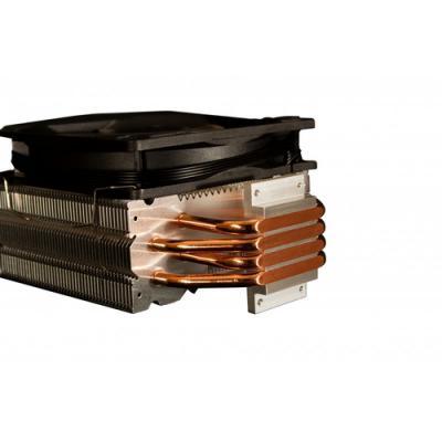 CoolBox DeepGaming Cyclone II LED Blue Procesador Enfriador 12 cm 1 pieza(s) Negro - Imagen 3