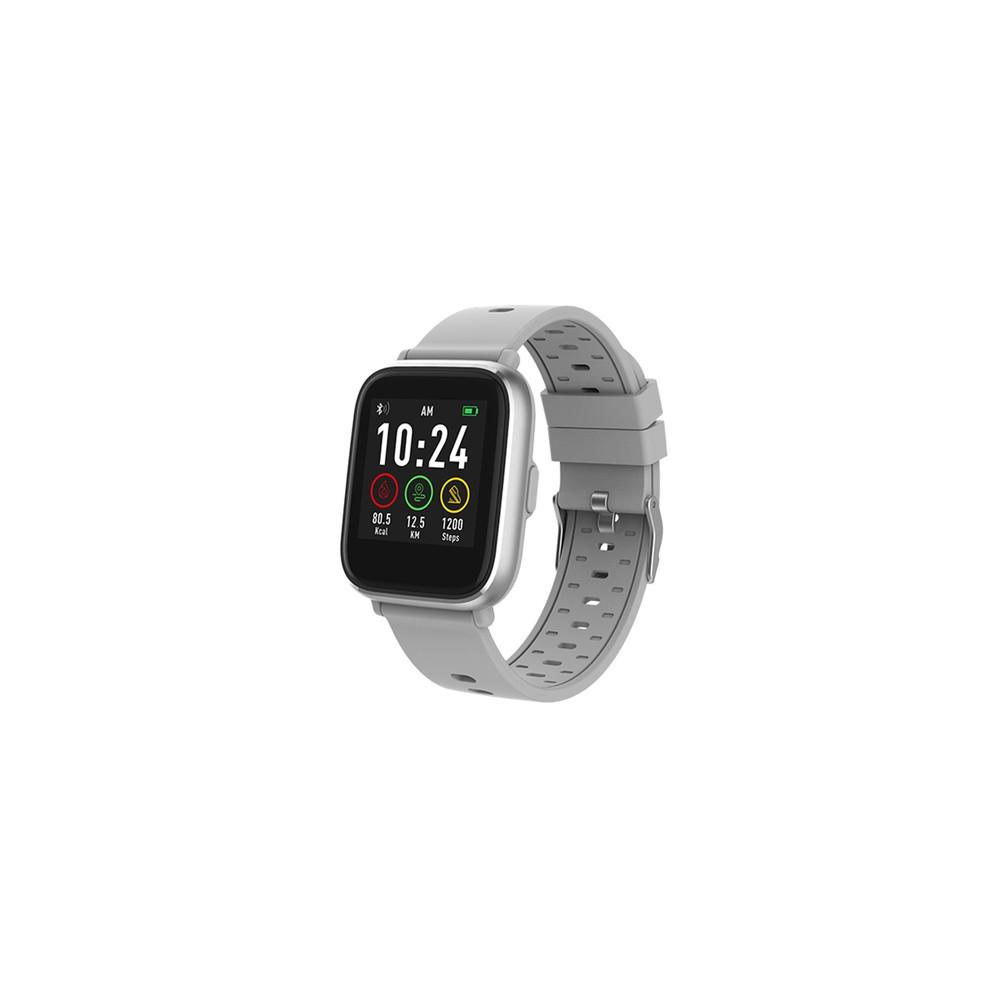 "Denver SW-161GREY reloj inteligente IPS 3,3 cm (1.3"") Plata - Imagen 1"