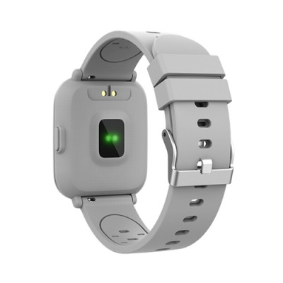 "Denver SW-161GREY reloj inteligente IPS 3,3 cm (1.3"") Plata - Imagen 2"