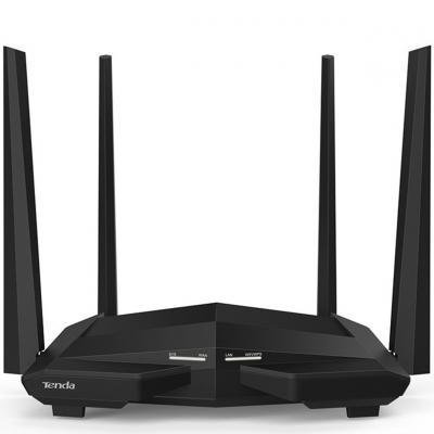 Router wifi ac10u dual band ac1200 1167mbps 3 puertos lan 1 puerto wan 1 puerto usb tenda - Imagen 1